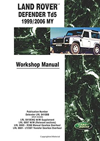 land rover defender td5 1999 2006 my workshop manual workshop rh amazon co uk land rover discovery td5 workshop manual free download land rover discovery 2 td5 workshop manual pdf