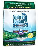 Natural Balance Dry Dog Food, Grain Free Limited Ingredient Diet Large Breed Lamb Meal and Rice, 15 Pound Bag, My Pet Supplies
