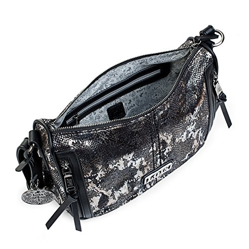 Silver Silver Women's Bag Body Bag Cross Silver L Lois Cross Body Women's Lois Silver q6ExTEAtn