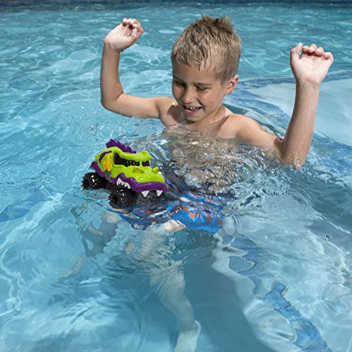 SwimWays Hydrovers - Outdoor Pool Water Toy, Purple/Orange/Blue, One Size