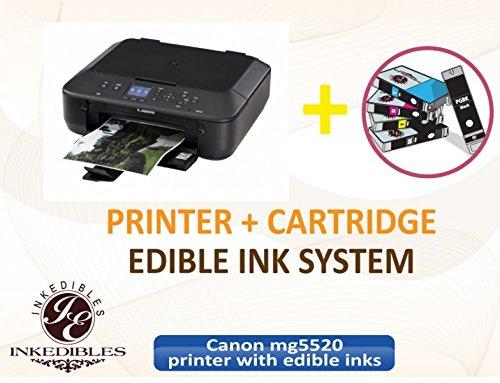 YummyInks ™ Brand: Canon MG5520 Bundled Printing System