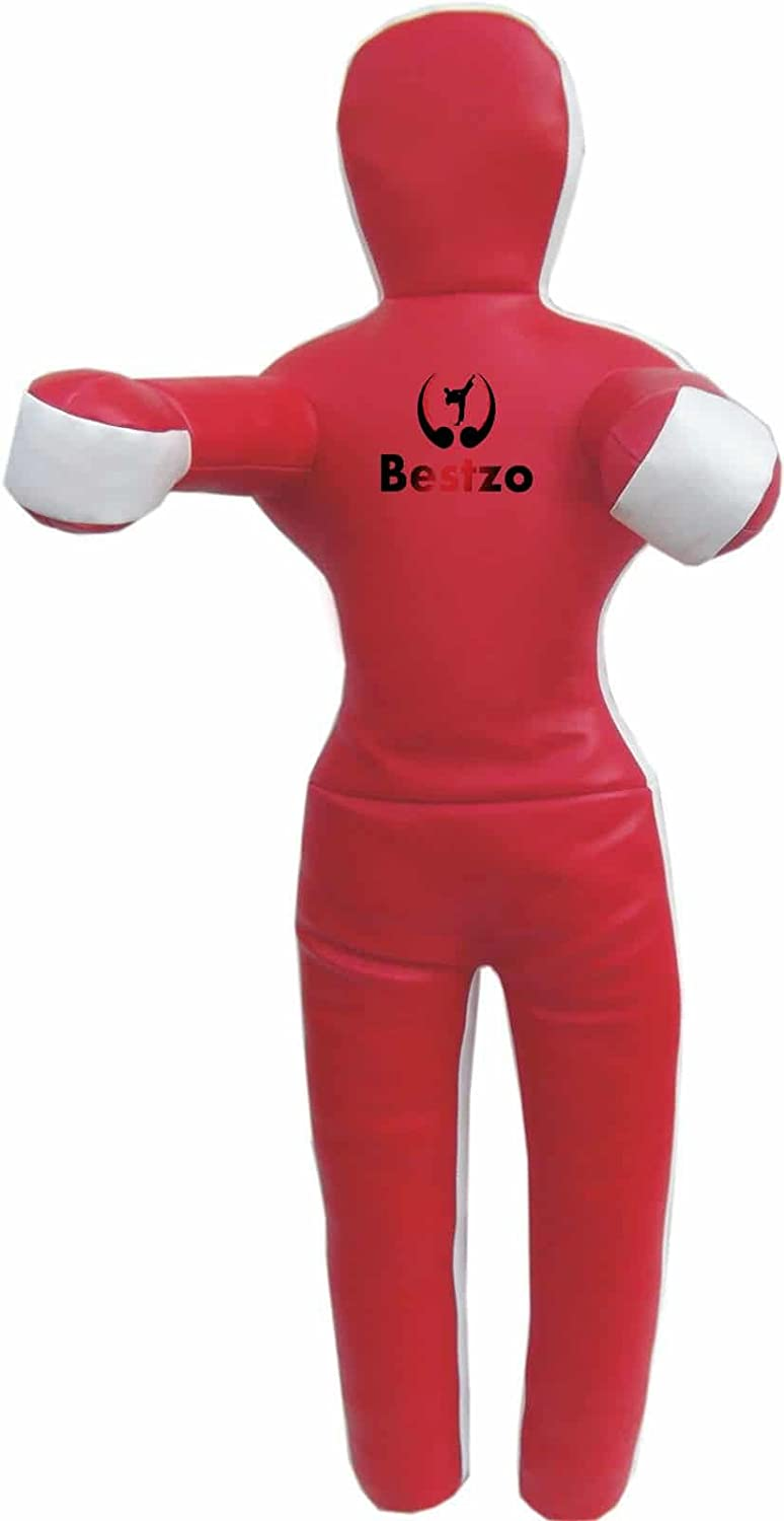 bestzo MMA ft) Punching 59 BagブラジルGrapplingダミーレッドStanding位置 – Unfilled 59 inches (5 Red ft) Synthetic Leather Red B01N4SHOST, 洋品百貨YAMATOYA:eda8b4a3 --- capela.dominiotemporario.com