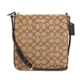 COACH OUTLINE SIGNATURE NS CROSSBODY (khaki/brown)