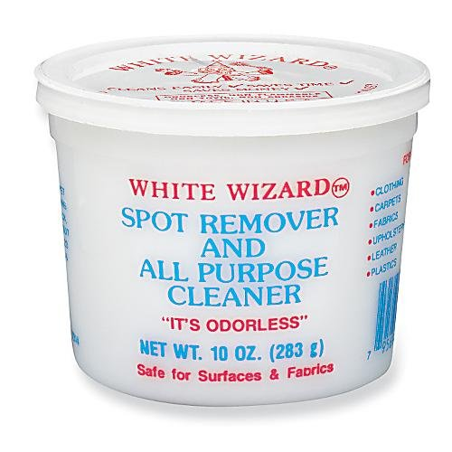 White Wizard Spot Remover and All Purpose Cleaner - 2 X 10 Oz Tubs