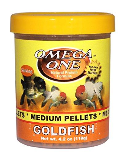 Image of Omega One Goldfish Pellets - Medium Sinking 4.2oz.