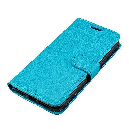 Funda Xiaomi Redmi 4X, Ecoway [3 ranuras para tarjetas] Serie retro Cuero de la Scrub PU Leather Cubierta, Función de Soporte Billetera con Tapa para Tarjetas Soporte para Teléfono para Xiaomi Redmi 4 A-4