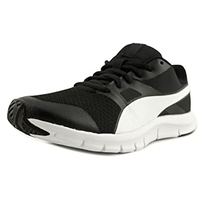 Puma Flexracer Men US 7 Black Running Shoe 470e6a648