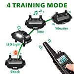 F-color-Dog-Training-Collar-2600FT-Dog-Shock-Collar-for-Large-Medium-Small-Dogs-Breed-with-4-Modes-Light-Beep-Vibration-Shock-Waterproof-and-Rechargeable-Shock-Collar-for-3-Dogs