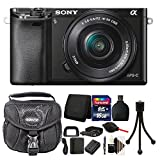 Sony Alpha A6000 Mirrorless Digital Camera Black with 16GB Top Accessory Bundle Review