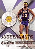 Wilt Chamberlain basketball card (Los Angeles Lakers) 2015 Panini Excalibur Juggernauts #28