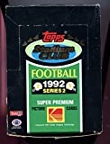 1992 Topps Stadium Club Football Wax Pack Box Series TWO 2