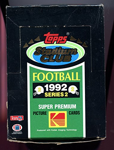 1992 Topps Stadium Club Football Wax Pack Box Series TWO 2 ()