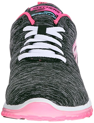 Women's High Air Skechers Pink Sport Black Run Fashion Hot Skech Sneaker qxp5BSn5t