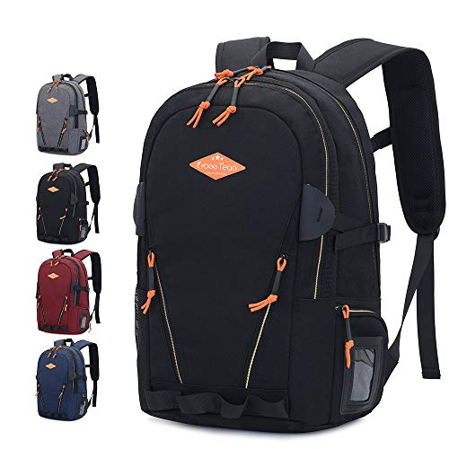 Sunhiker Travel Laptop Backpack, Water Resistant College School Laptop Backpack, Durable Extra Large Capacity Business Work Backpack Dayback for Women & Men, Fits 15 Inch Laptop