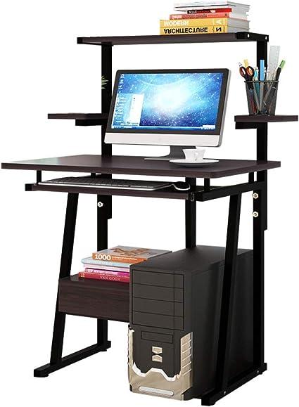 Estantes de escritorio de computadora modernos de múltiples ...