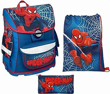 760166bbf400b Undercover Scooli Schulranzen Set - Spider-Man - Cosmos - 3-teilig ...