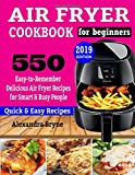 AIR FRYER COOKBOOK FOR BEGINNERS: 550