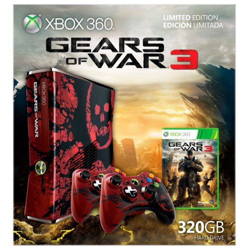 Xbox 360 Gears Limited Console Bundle