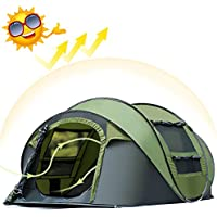 AYAMAYA Camping Tents 3-4 Person/People Easy Up Instant...