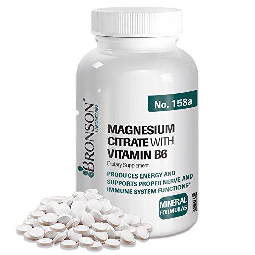 Bronson Magnesium Citrate Vitamin Tablets
