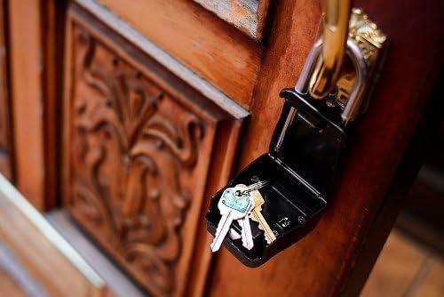 Lion Locks 1500 Key Storage Lock Box With Set Your Own Combination Black Amazon Com