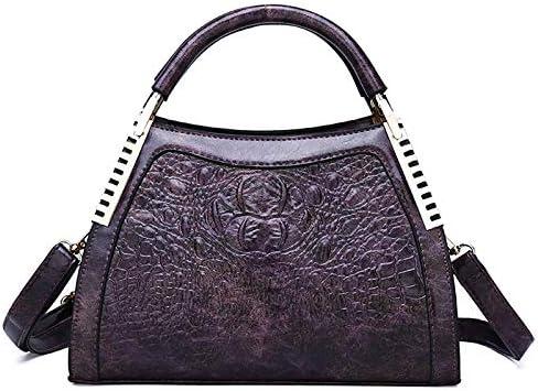 Mdsfe Neue Luxus Handtaschen Damen Taschen Designer Mode Krokodil Muster Umhängetasche Damen Party Messenger Taschen Bolsa Feminina - Green Two Red Two-a41