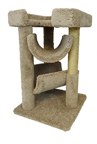 New Cat Condos Premier Cat Scratch and Lounge, Beige