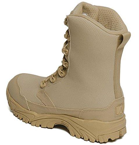 MFM100 ALTAI 8 Waterproof Tan Combat Boots Model