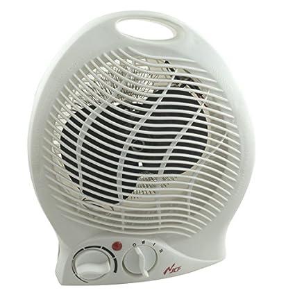Termoventilador de aire cálido para el baño, estufa eléctrica de 1000 2000 W de potencia