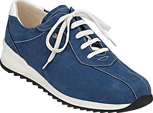Finn Comfort Sarnia-comfort Shoes / Loose Insert Scarpe Da Donna Comode Scarpe Stringate Blu Blu