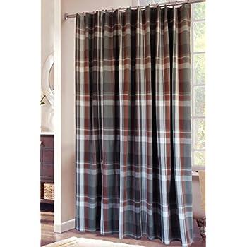 Carstens Grand Teton Plaid Shower Curtain