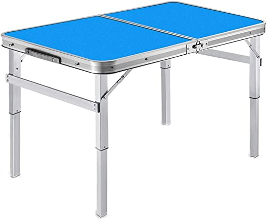 ZXW Folding Table Portable 90x60x34cm