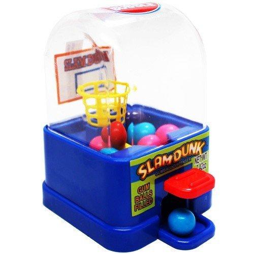 TOYSnPLAY Gumball Dispenser - Basketball Slam Dunk