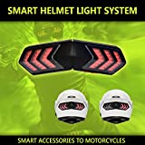 Smart Rider Wireless Brake And Turn Signal Light Indicators System For Motorcycle Helmets
