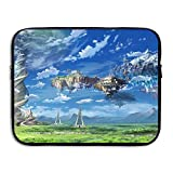 Business Briefcase Sleeve Sky Scenery Anime Laptop Sleeve Case Cover Handbag For 15 Inch Macbook Pro / Macbook Air / Asus / Dell / Lenovo / Hp / Samsung / Sony / Women & Men