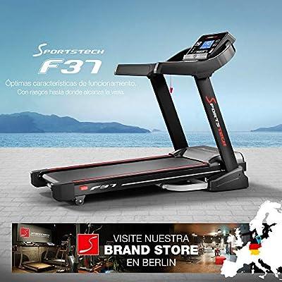 Sportstech F37 Cinta Correr Plegable Profesional, Velocidad hasta ...