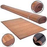 5′ X 8′ Bamboo Area Rug Floor Carpet Natural Bamboo Wood Indoor Outdoor New Review