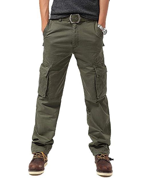 Retro Color Cargo Daihan Liso Hombre ,hombre Pantalones Para fIYb7yv6g