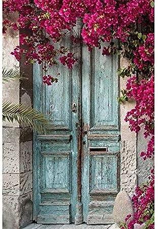 Kit de pintura de diamante 5d puerta de flor de cristal punto de cruz decoración del hogar bordado de diamantes arte de mosaico de dibujos animados