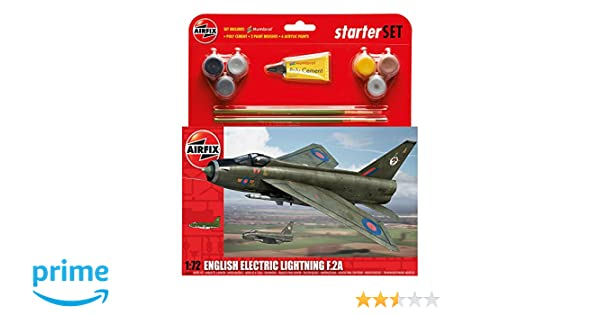 Airfix 1:72 English Electric Lightning F.2A Starter Set ()