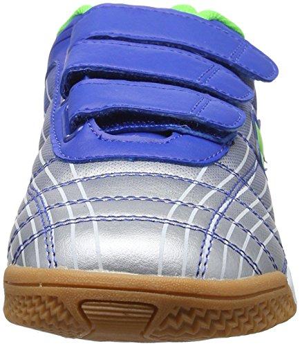 Lico Rockfield V - Zapatillas deportivas para interior de material sintético niños Azul (BLAU/SILBER/LEMON)