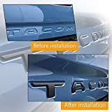 Auto safety Tailgate Insert Letters for Toyota
