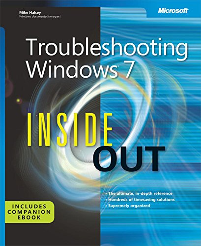 Troubleshooting Windows 7 Inside Out Pdf