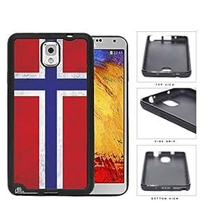 Norwegian Flag Dirty Grunge Rubber Silicone TPU Cell Phone Case Samsung Galaxy Note 3 III N9000 N9002 N9005