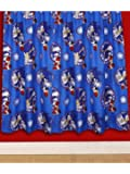 Character World 72-inch Sonic the Hedgehog Sprint Curtains, Multi-Color