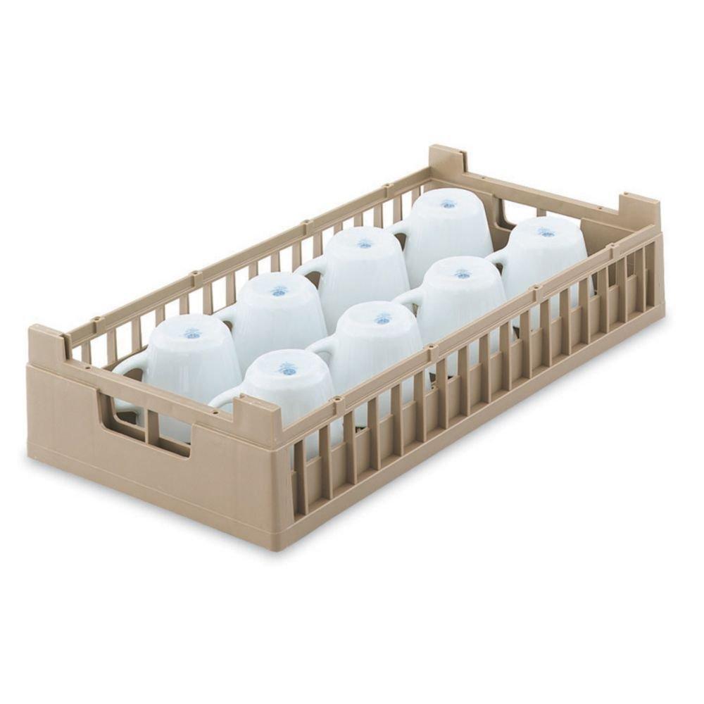 Vollrath 5280620 Cocoa Half Size 10-Compartment Cup Rack