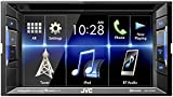 "JVC KW-V130BT Double DIN BluetoothA In-Dash DVD/CD/AM/FM Car Stereo w/ 6.2"" Clear Resistive Touchscreen"