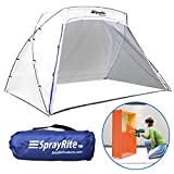 SPRAYRITE – Paint Spray Shelter – Spray Booth Painting Tent – Small Furniture Paint Stain Shelter – Portable for Home Use and Stores Easily – Great for Woodworking