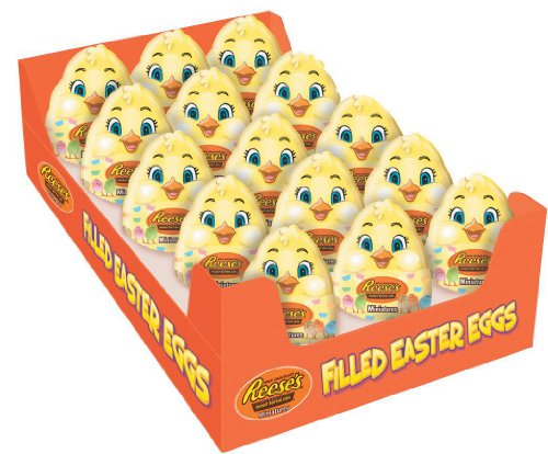 Reese's Easter Peanut Butter Cup Miniatures in Plastic Chick