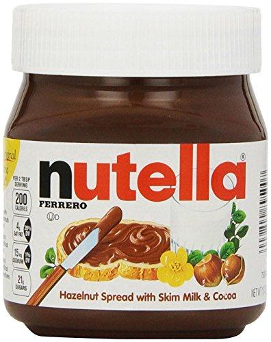Nutella Hazelnut Spread 13 oz (Pack of 2)